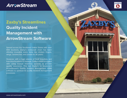 Zaxby's Streamlines their Food Quality Program